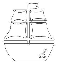 Ausmalbild Piratenschiff kostenlos 1 Applikationen