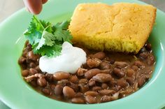 Beans and Cornbread | The Pioneer Woman Cooks | Ree Drummond