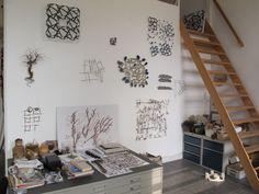 Marian Bijlenga's studio