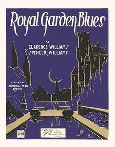Royal Garden Blues by Confetta, via Flickr