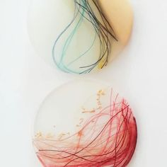 Colorful waves #inspiration summer Waves, Resin Art, Jewelry Art, Handmade Jewelry, Colorful, Abstract, Instagram, Artwork, Artist