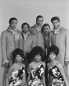 The Temptations & The Supremes  (need to cheer the fuck up!)