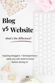 A full definition of what is a blog for aspiring bloggers and entrepreneurs. Questions answered why blogging is so popular and the difference between a website and blog. #blogging #bloggingtips #website Make Money Blogging, How To Make Money, What Is A Blog, Entrepreneur, Full Definition, Like Facebook, Blog Design, Web Design, Seo Tips