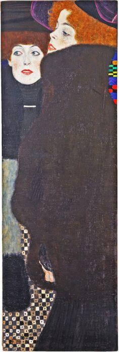 Gustav Klimt- Die Schwestern, 1907