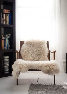 Ditto this....Find a similar sheepskin, at https://www.etsy.com/people/NaturalBazaar  :)