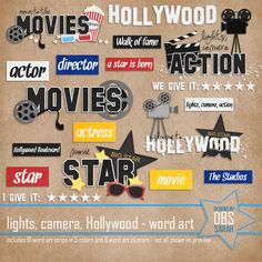 Favorite Disney Hollywood Studios Kits - DigiShopTalk Digital Scrapbooking