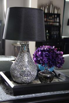 Target Mirror Mosaiced Lamp Base Via FiveElevenDecor: Lucketts U0026 Leesburg  Oct   2012