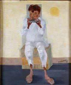 Menino com gaita, 1957