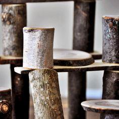 Branch Blocks | 26 Piece Natural Block Set | Eco Friendly Toys | Natural Building Blocks