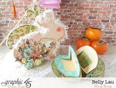 Rabbit Lantern Mini Album - Graphic 45 - Once Upon a Springtime - Belly Lau