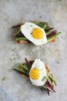 Meyer Lemon and Gigante Bean (aka ButterBean) Open Faced Sandwiches # ...