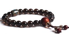 Mala Prayer Bead,Healing Bracelet,Yoga Jewelry,Smoky Quartz Women *** Check this awesome jewelry pin  : trend jewelry 2016