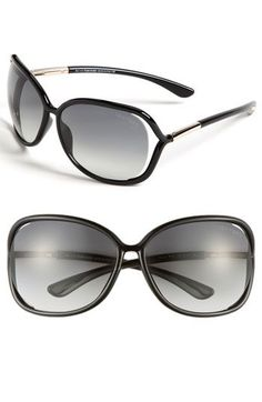 bb99e2cce1eb Tom Ford  Raquel  68mm Oversized Open Side Sunglasses available at   Nordstrom