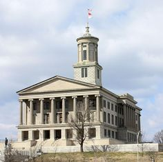 "Photo of the Tennessee State Capitol in Nashville. Credit: Kaldari; Wikimedia Commons. Read more on the GenealogyBank blog: ""Tennessee Archives: 78 Newspapers for Genealogy Research."" http://blog.genealogybank.com/tennessee-archives-78-newspapers-for-genealogy-research.html"