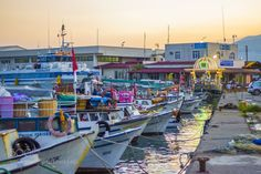 Harbor At Sunset by Abd-Alhafez  sky sea sunset water boat reflection travel harbour turkey boats port seascape marina fishing harbor