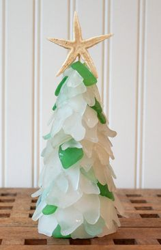 Genuine Maine Sea Glass Tree in 3 sizes