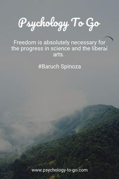Freedom is absolutely necessary for the progress in science and the liberal arts. Philosophy Theories, Freedom Quotes, Psychology, To Go, Science, Words, Art, Psicologia, Art Background
