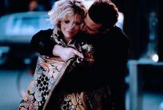 Kim Basinger and Mickey Rourke in 9 1/2 Weeks