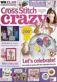 Журналы по вязанию и рукоделию: Cross Stitch Crazy №200 March 2015