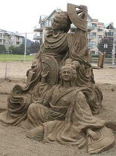 Amazing Sand Sculptures (8)