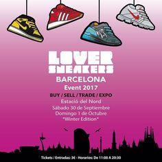 Barcelona vuelve a ponerse las Zapas!!  Loversneakers Barcelona Event 2017 Winter Edition BUY / SELL / TRADE / EXPO - 30 Sep & 1 Oct - Estació del Nord - Barcelona  http://ift.tt/1iZuQ2v  #LSevent2017#loversneakers #sneakerheads #sneakers #kicks #zapatillas #kicksonfire #kickstagram #sneakerfreaker #nicekicks #barcelona #snkrfrkr #sneakercollector #shoeporn #igsneskercommunity #sneakernews #solecollector #wdywt #womft #sneakeraddict #kotd #smyfh #hypebeast #bambas #sneakersevent