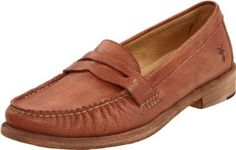 "FRYE Women's Otis Slip-On Loafer FRYE. $78.62. leather. Made in Mexico. Heel measures approximately 1"". Rubber sole"