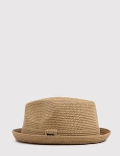 The Bailey Billy braided trilby hat in latte from the Bailey Billy hats  Spring Summer d4aa29a8931c