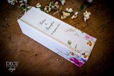 DECU Style - Decoupage blog: Skrzynka na wino w polne kwiaty...