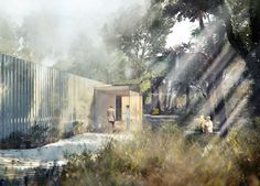 AL_A's garden oasis maggie's centre in southampton granted planning permission