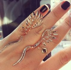 New rings by Cristina Ortiz