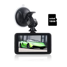 soled Dash Cam Pro Car Dash AUTO Camera Car DVR Night Vision WDR Full HD 170°Wide Angle Dashboard Camera G-sensor Motion Detection AUTO Recording with 16G Memory card for Christma's gifts. ★Crash detection: Highly-sensitive G-sensor powered automatic video recording and video file locking when a collision or crash is detected. The sensitivity of the G-sensor can be set to low, mid and high levels.Also it come with 16G Memory card,If you want to equip a DVR camera without Memory card…