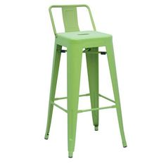 Green Metal Bar Chair,