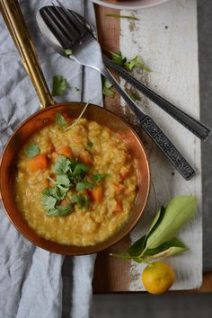 In the mood for Dhal....