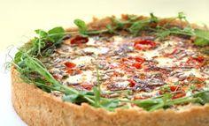 Pullahiiren leivontanurkka: Feta-tomaattipiirakka ruispohjalla