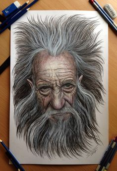Color Pencil Portraits - 02
