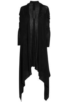 028e6c61215 Rick Owens  Long draped cashmere cardigan Drape Cardigan