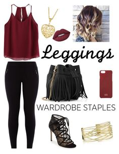 """""""take me on"""" by anushkaeliaza ❤ liked on Polyvore featuring New Look, Pour La Victoire, Whistles, Lime Crime, Native Union, Leggings and WardrobeStaples"""
