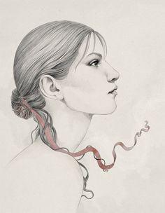 Sketches II by Diego Fernandez, via Behance