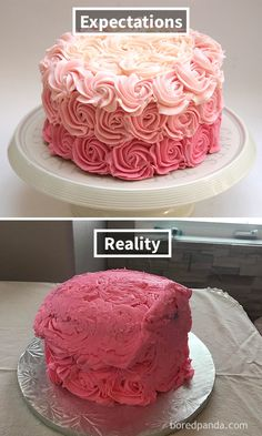 Expectations Vs Reality Of The Worst Cake Fails Ever Bad - The 34 most hilarious pinterest fails ever