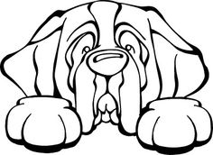 Do you love your Saint Bernard? Then a dog decal from Decal Dogs is what you need to celebrate your best friend. The decal measures 6 in. x 4 in. and can be applied to most smooth surfaces including y