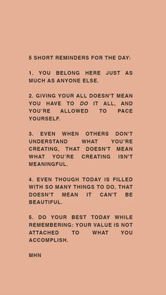 Affirmations to live by ✨ The Words, Cool Words, Beautiful Words, Pretty Words, Motivacional Quotes, Words Quotes, Value Quotes, Self Love Quotes, Quotes To Live By