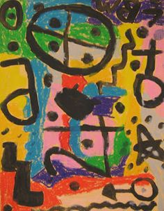 Art in the Big Green Room: 3rd grade Klee Symbols