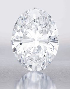 The 118.28ct Magnificent Oval diamond is the the largest D colour, Flawless diamond ever to go under the hammer. It is almost 20% larger than the current record holder, the 101.84ct  'Mouwad Splendour' diamond, which sold at Sotheby's in 1990.