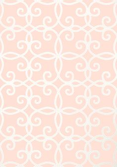 Kendall #wallpaper in #pink from the Geometric Resource 2 collection. #Thibaut