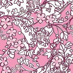 Love the Lilly Pulitzer Alpha Phi print!