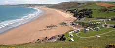 Pinned from the I Spy Camping blog:woolacombe-beach-devon