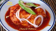 CHANCLAS POBLANAS comida mexicana