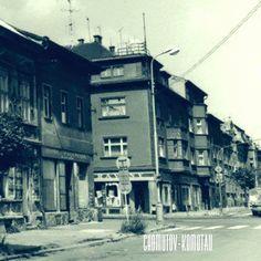 Dnešní roh ulice Blatenské(Platnerstraße) Spaces
