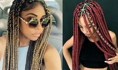 Top 32 Braided Hairstyles for Black Women That are Trending in 2019 - Hair Tutorials Basic Hairstyles, Very Easy Hairstyles, French Braid Hairstyles, Braided Hairstyles For Black Women, Braids For Black Hair, Trending Hairstyles, Pretty Hairstyles, Hairstyles Pictures, Loose French Braids
