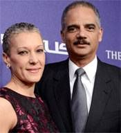 """Eric Holder's wife, Sharon Malone Holder, a practicing OB/Gyn, co-owns an Atlanta area abortion clinic building with her sister, where an abortion doctor is under indictment for Medicaid fraud.....""  http://freedomoutpost.com/2013/04/sharon-malone-holder-eric-holders-wife-co-owner-of-investigated-abortion-clinic-administration-and-media-silent-on-killer-gosnell/"